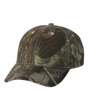 Kati Men's Realtree Mid-profile Camouflage Cap RT10 Adjustable Realtree Hardwood HD Green