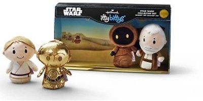 (Hallmark itty bittys Star Wars Stuffed Animal Collector Set)