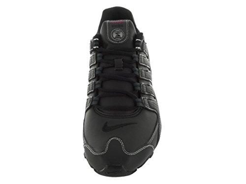 Nike Mens Shox Nz Sl Scarpe Da Corsa Nero / Varsity Rosso / Bianco / Antracite