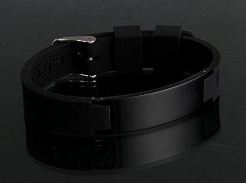 Bracelet Magnetic Function GD BLK 1228 Multifunctional