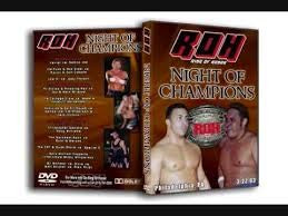 ROH Ring of Honor Night of Champions 3.22.03 DVD Philadelphia, for sale  Delivered anywhere in USA