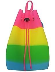 American Jewel Gummy Bucket Bag Backpack - Tie Dye