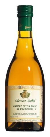 (Fallot France Burgundy White Wine Flavored Vinegar 16 Fl. Oz by Edmond)