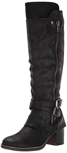 Carlos by Carlos Santana Women's Reagan Knee High Boot, Black, 11 M US