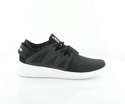 adidas Originals Women's Tubular Viral W Fashion Sneaker, Black/Black/White, 10 M US S75581