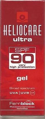 Pack 4x Heliocare Ultra Uvb/uva Spf 90 Gel 50ml-200ml the Greatest Goods