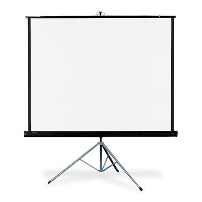 Portable Projector Screen Viewing Area: 60'' H x 60'' W by Quartet