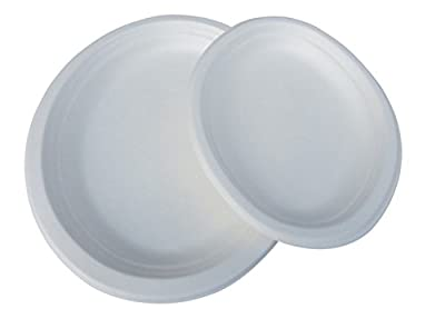 """Yens Eco-Green Friendly 7.5""""X 10"""" oval plate, GO-01"""