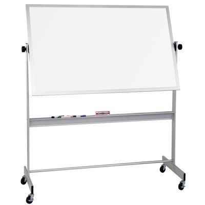 Deluxe Reversible Whiteboard Size: 4' H x 8' L by Best-Rite