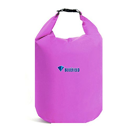 Waterproof Dry Bag Sack, GuanYuanGuang 20L/40L/70L Lightweight Dry Gear Bags for Boating, Kayaking, Fishing, Rafting, Caming, Beach (Purple-20L)
