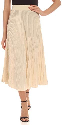 Pinko Fashion Woman 1G14LVY62XC03 White Polyamide Skirt | Spring Summer 20