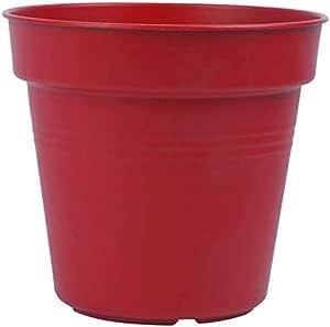 وعاء زرع بلاستيك من مينترا، 15سم، احمر