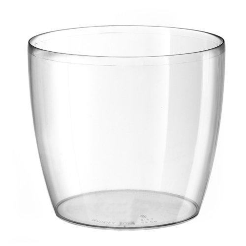 20x 20x 35cm colore trasparente TERAPLAST Algarve–vaso