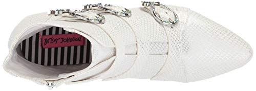 Johnson Betsey Women's Johnson Betsey Snake White wwxf1Eq