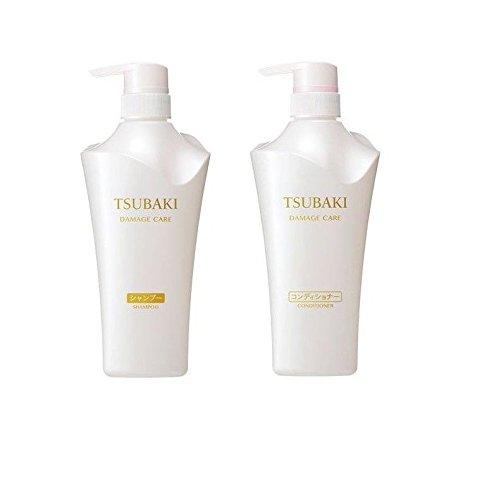 2017 New Shiseido Tsubaki Damage Care Shampoo and Conditioner Set Damage Care Shampoo