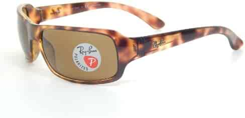 e1a29fe32 New Ray Ban RB4075 642/57 Tortoise/Brown Classic 61mm Polarized Sunglasses