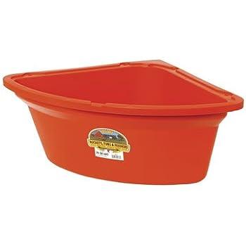 lg aluminum stable buckets corner asp barn feeder model cast horse