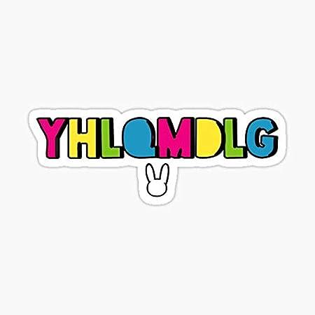 Custom Bad Bunny Vinyl Sticker Logo Decal YHLQMDLG Bad Bunny