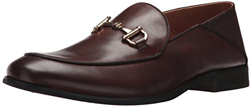 Steve Madden Mens Sauce Oxford Brown Leather