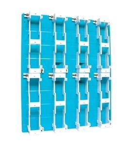 Suttle 1 Sutttle Backboard-8 Block - Blue - Suttle Backboard