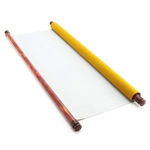 DalaB Blank Chinese Calligraphy Write Paint Water Rewriting Magic Cloth Paper Repeat Use Magic Water Write Cloth DIY Craft 140cm43cm ()