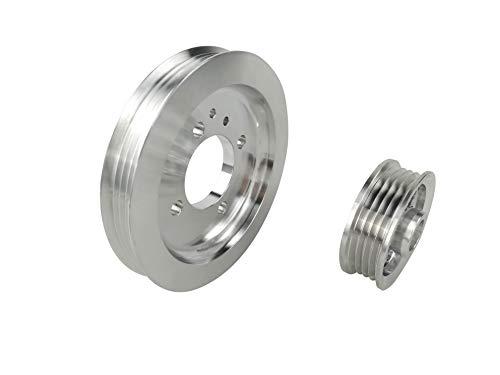 Lightweight Underdrive Crank Pulley for Ford Escort 96-96 1.8L DOHC 16V Miata MX3 Protege ()