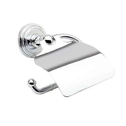 Hooded Paper Holder - Ginger 1127/PC Chelsea, Hooded Toilet Tissue Holder, Polished Chrome