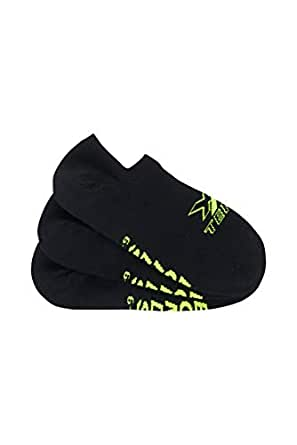 Bonds Men's X-Temp No Show Socks, Black, 6-10