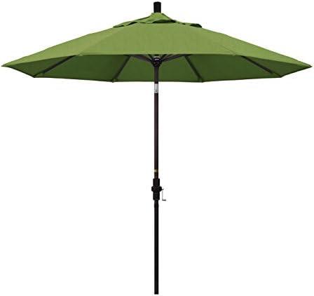 California Umbrella 9' Round Aluminum Market Umbrella