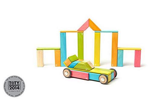 42 Piece Tegu Magnetic Wooden Block Set, -