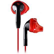 Yurbuds (CE) (YBIMINSP01RNBAM) Inspire 100 Noise Isolating In-Ear Headphones, Red/Black