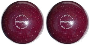 EPCO-Duckpin-Bowling-Ball-Speckled-Houseball-CranberryBalls-2-Balls