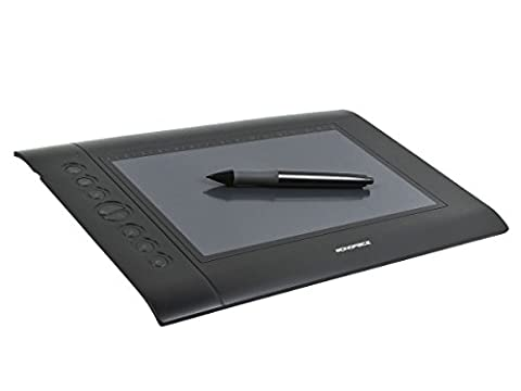 Monoprice 10 x 6.25-inch Graphic Drawing Tablet (4000 LPI, 200 RPS, 2048 Levels) (10 Tablets Under $60)