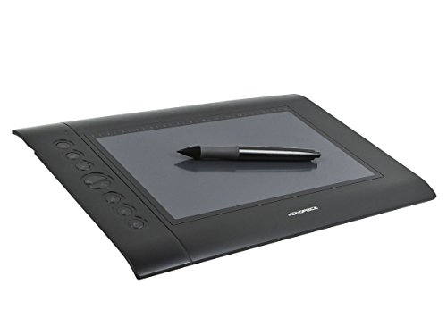 Monoprice 10 x 6.25-inch Graphic Drawing Tablet (4000 LPI, 200 RPS, 2048 Levels)