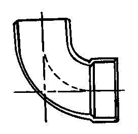 Charlotte Pipe Street Elbow Abs/Dwv 1-1/2