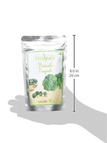 Vitasnack, Aperitivo vegetal (Brócoli) - 10 de 24 gr. (Total 240 gr.): Amazon.es: Alimentación y bebidas