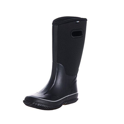 fuyang Women's Snow Rain Boots Winnter Protection up to -22 Fahrenheit