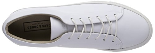 amp; JACK White Jfwsputnik Herren JONES White Sneaker Leather Weiß zqdqvf4wW