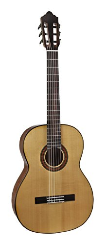 Giannini GNC-20MAH Classical Nylon String Guitar with Solid Spruce Top, Mahogany Back and Sides, Natural Gloss