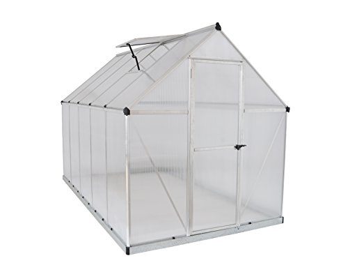 Palram Nature Series Mythos Hobby Greenhouse - 6' x 10' x 7', ()