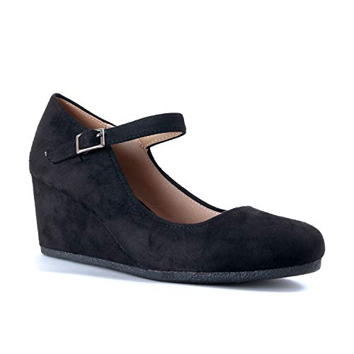 Guilty Shoes - Patricia-05 Black Suede, ()