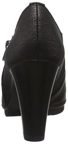 Hispanitas Ambers - Tacones Mujer Negro - Schwarz (Soho-I6 Black Tejus-I6 Black)