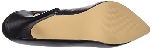 Pleaser AMUSE-20, Damen Plateau Pumps, Schwarz (Schwarz (Blk Leather)), 45 EU (13 Damen UK)