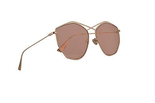 Christian Dior DiorStellaire4 Sunglasses Gold w/Orange Lens 59mm J5GW7 Stellaire 4 Stellaire4