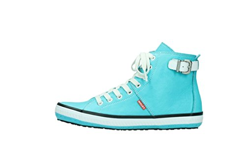Wolky Turquoise 20760 Cuir Sandali Ka Hqrw8H
