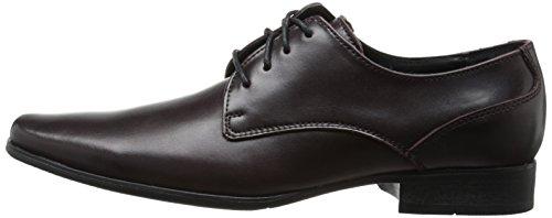 Calvin Klein Men's Brodie Oxford Shoe Fashion Sneaker, Oxblood, 9 M US