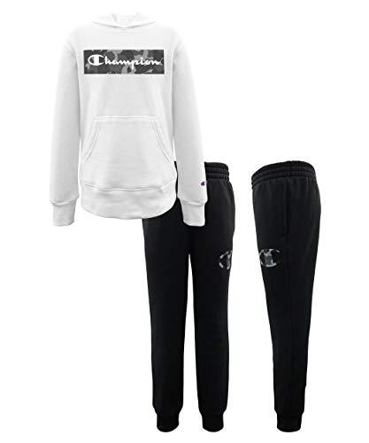 Champion Boys Heritage 2-7 Two Piece Hooded and Crew Neck Fleece Pant Fleece Sweatshirt Sport Sets