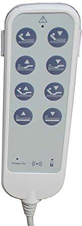 Solocamas Cama Articulada Eléctrica + Carro Elevador (90_x_190_cm) Incluye Colchón Visco