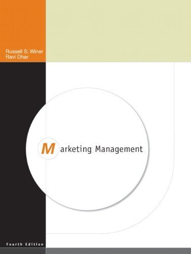 Marketing Handling (4th Edition) (Edition 4) by Winer, Russ, Dhar, Ravi [Hardcover(2010£©]