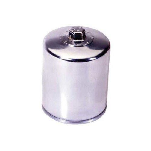 K & N oil filter [Chrome] KN-171C FLHP (09), FLHR (99-12), FLHRC (07-12), FLHRSE4 (08), FLHT (99-09), FLHTC (99-12), FLHTCI (99 -09), FLHTCU (07-12), FLHTCUSE CVO (11-12), FLHTCUSE3 (08), FLHTCUSE4